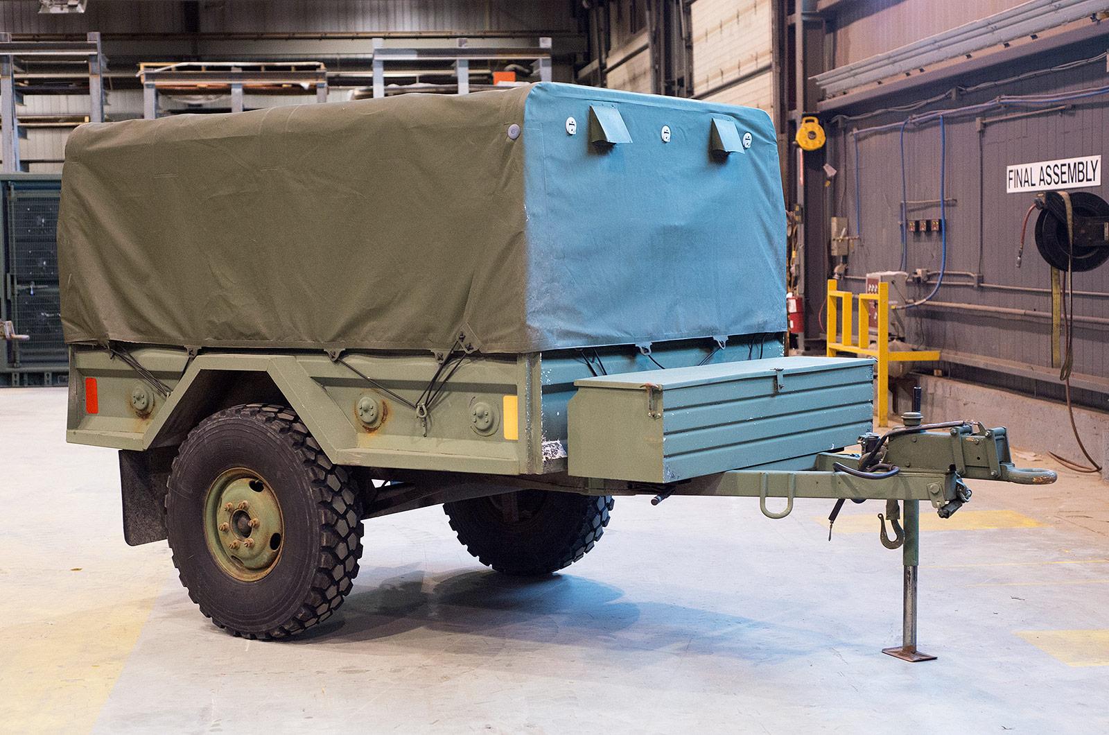 Luxury Army Mobile Kitchen Trailer Sketch - Interior Design Ideas ...
