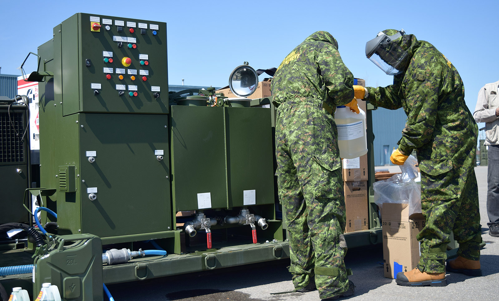 CBRN Personnel and Vehicle Decontamination Systems
