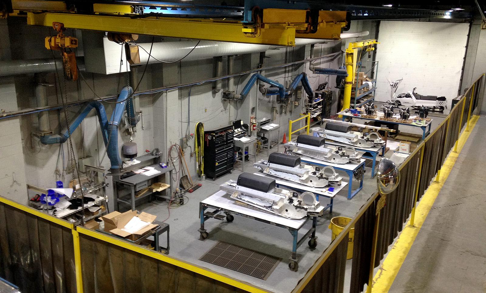 D900 Snowmobile Production