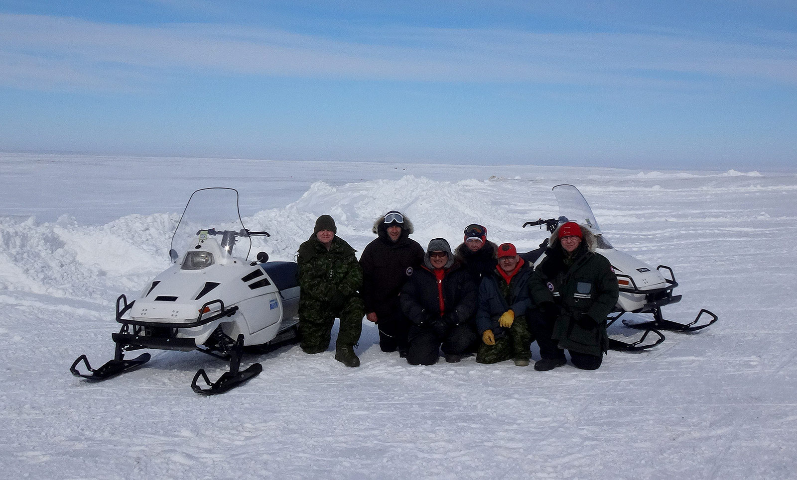 D900 Snowmobile Development team
