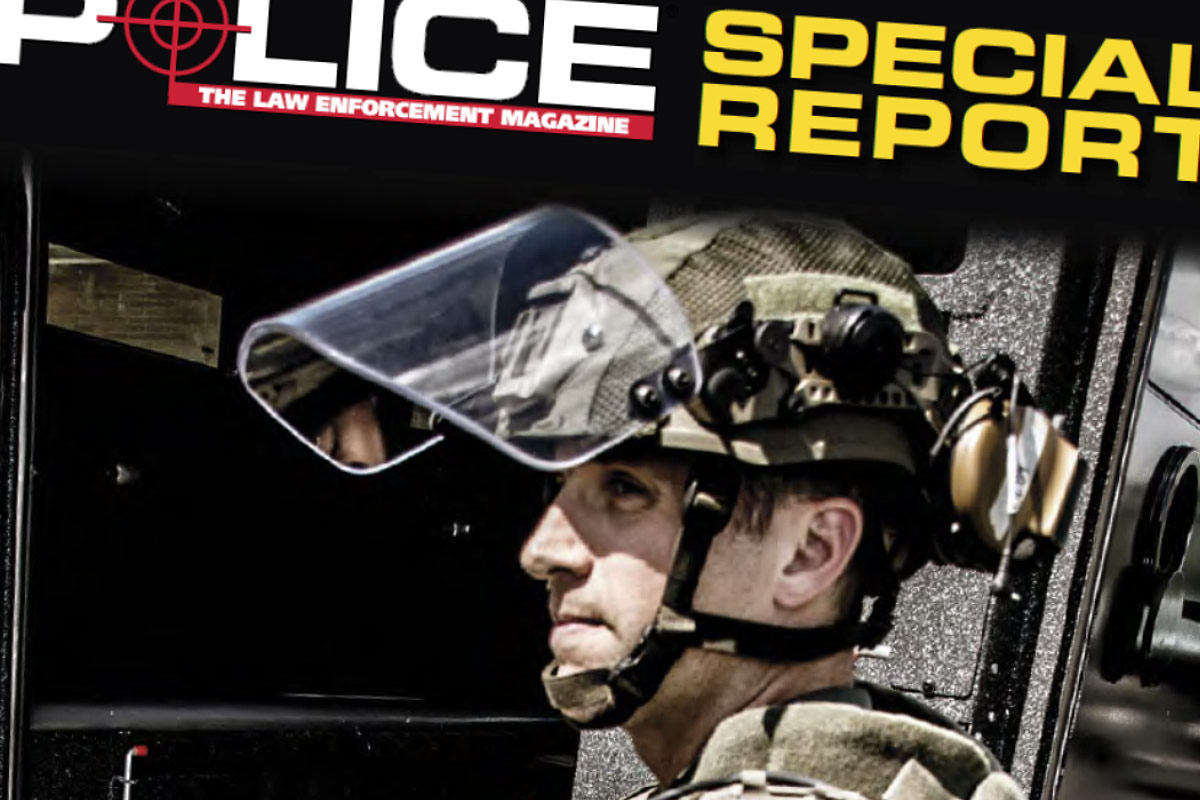Police: The Law Enforcement Magazine: Special Report, Adding Ballistic Armor to Patrol Vehicles