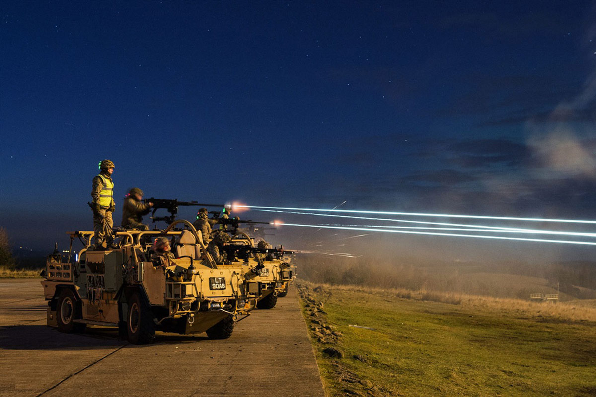 The Supacat High Mobility Transporter has been battle proven on operations across the globe. Photo: DEW Supacat
