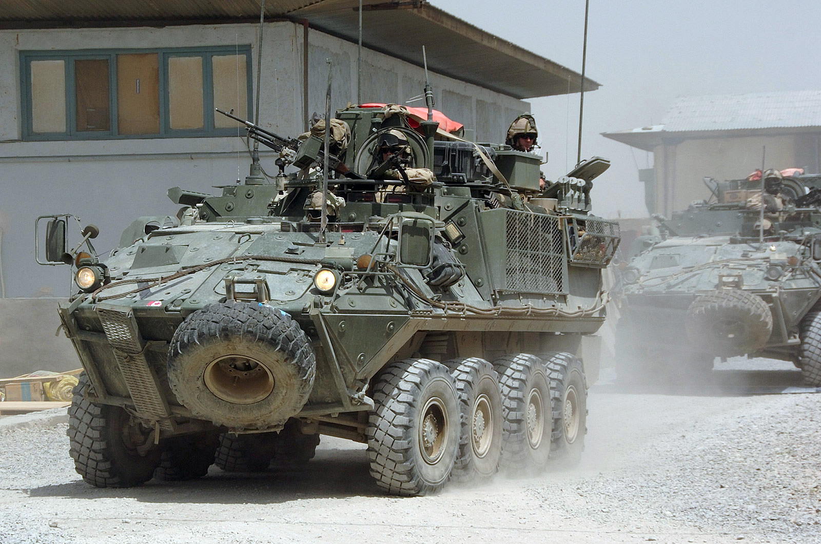 Bison Vehicle in Afghanistan
