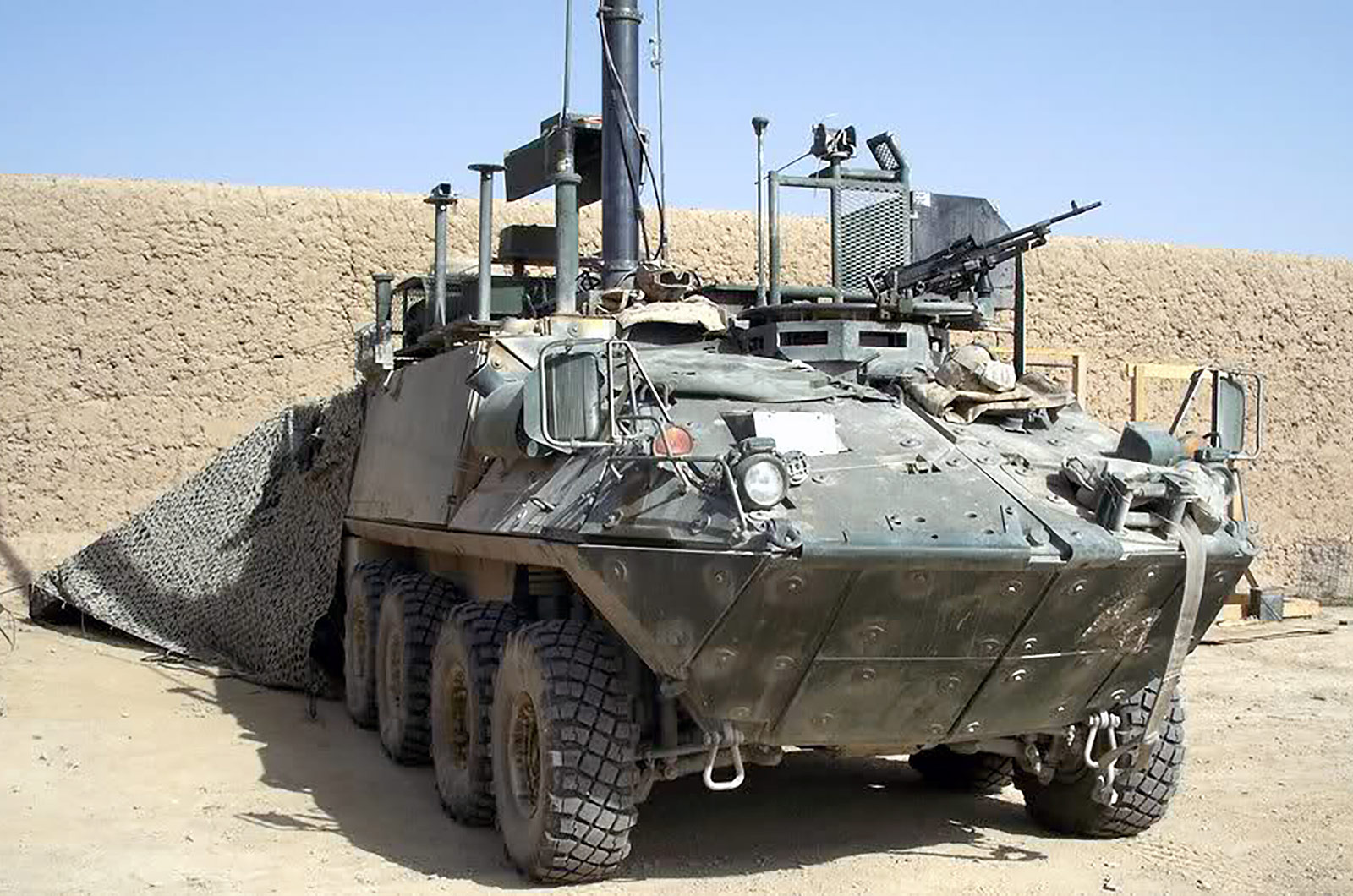 Bison Mobile Electronic Warfare Team Vehicle