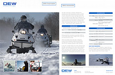 D900 Multifuel Military-Grade Utility Snowmobile: Brochure and Specifications