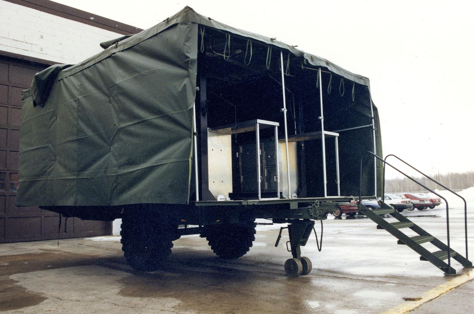 Mobile Kitchen Trailer | DEW Engineering and Development